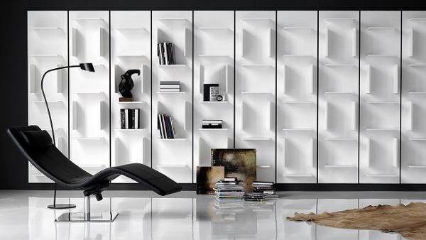 Libreria a parete design Cattelan