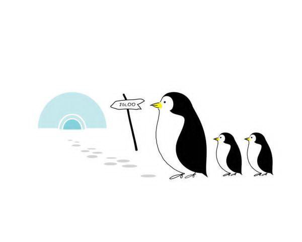 Nidi Sticker Penguin