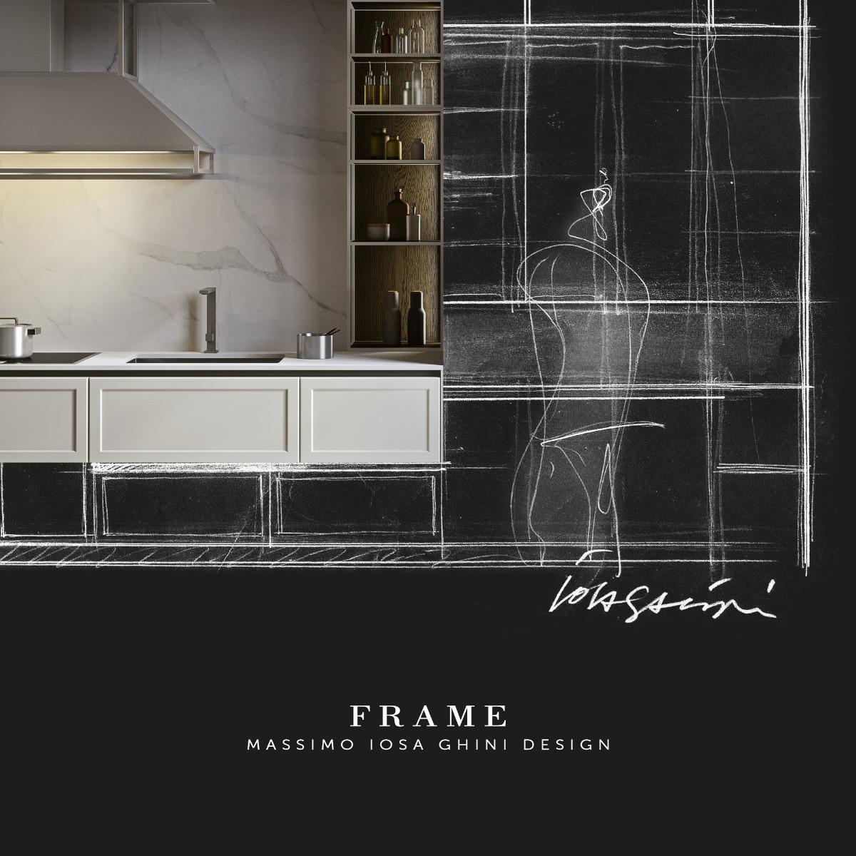 Frame, cucina Snaidero