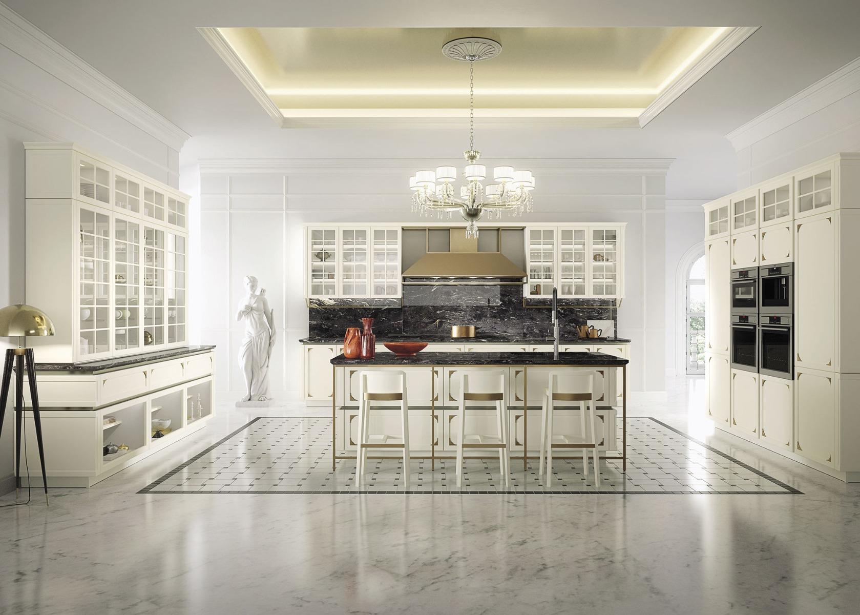 Cucina Sanidero Kelly, cucina classica chic