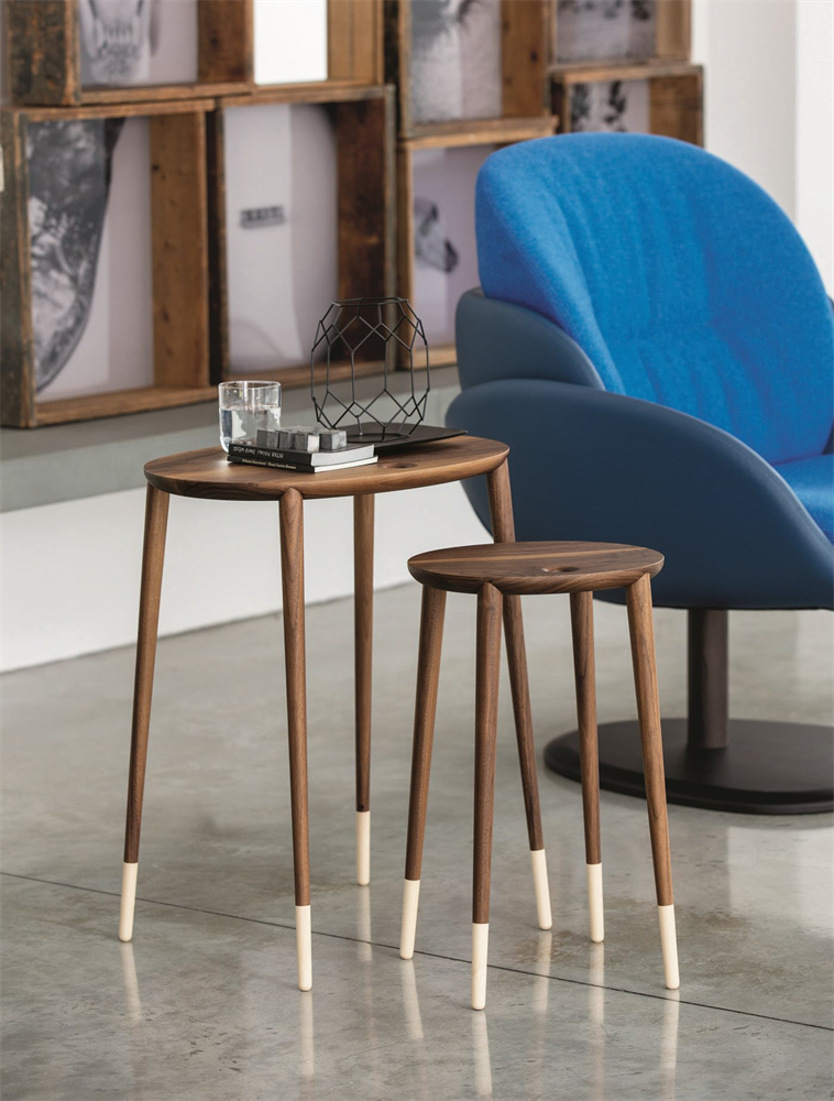 Tavolini ovali legno, Porada