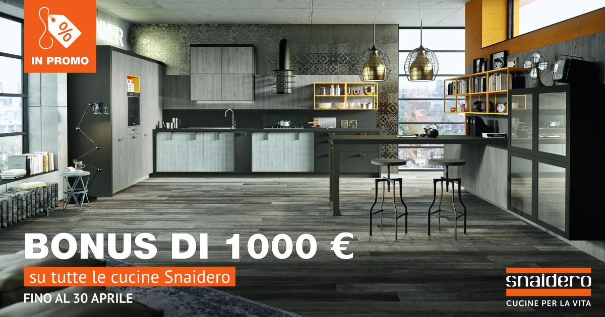 Snaidero Riparte La Promo 1 000 Euro Di Sconto Blog