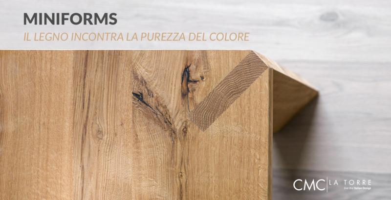Miniforms: il design si veste di colore
