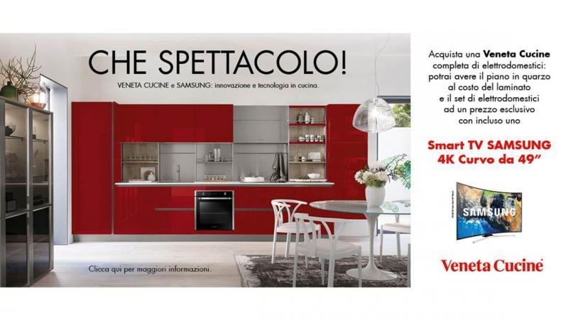 Veneta Cucine: in regalo una Smart TV!