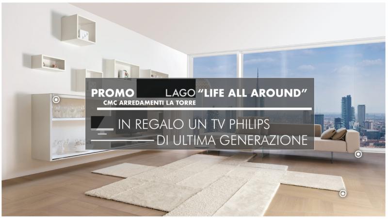 Lago: arreda la tua casa, in regalo un TV Philips