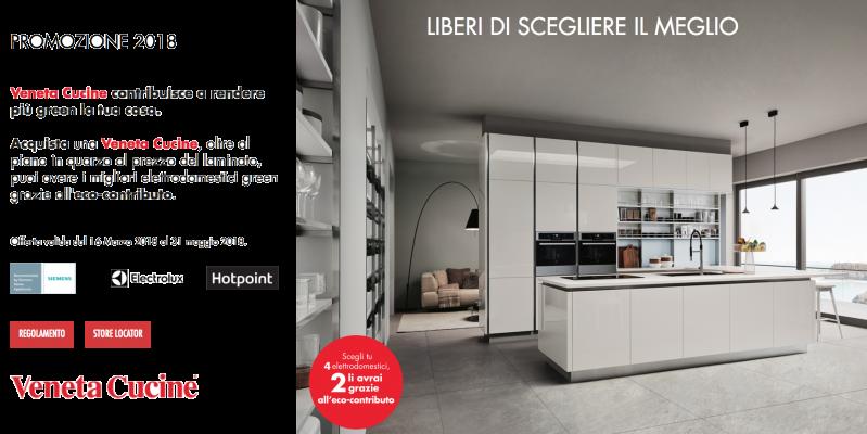 Veneta Cucine: liberi di scegliere il meglio!
