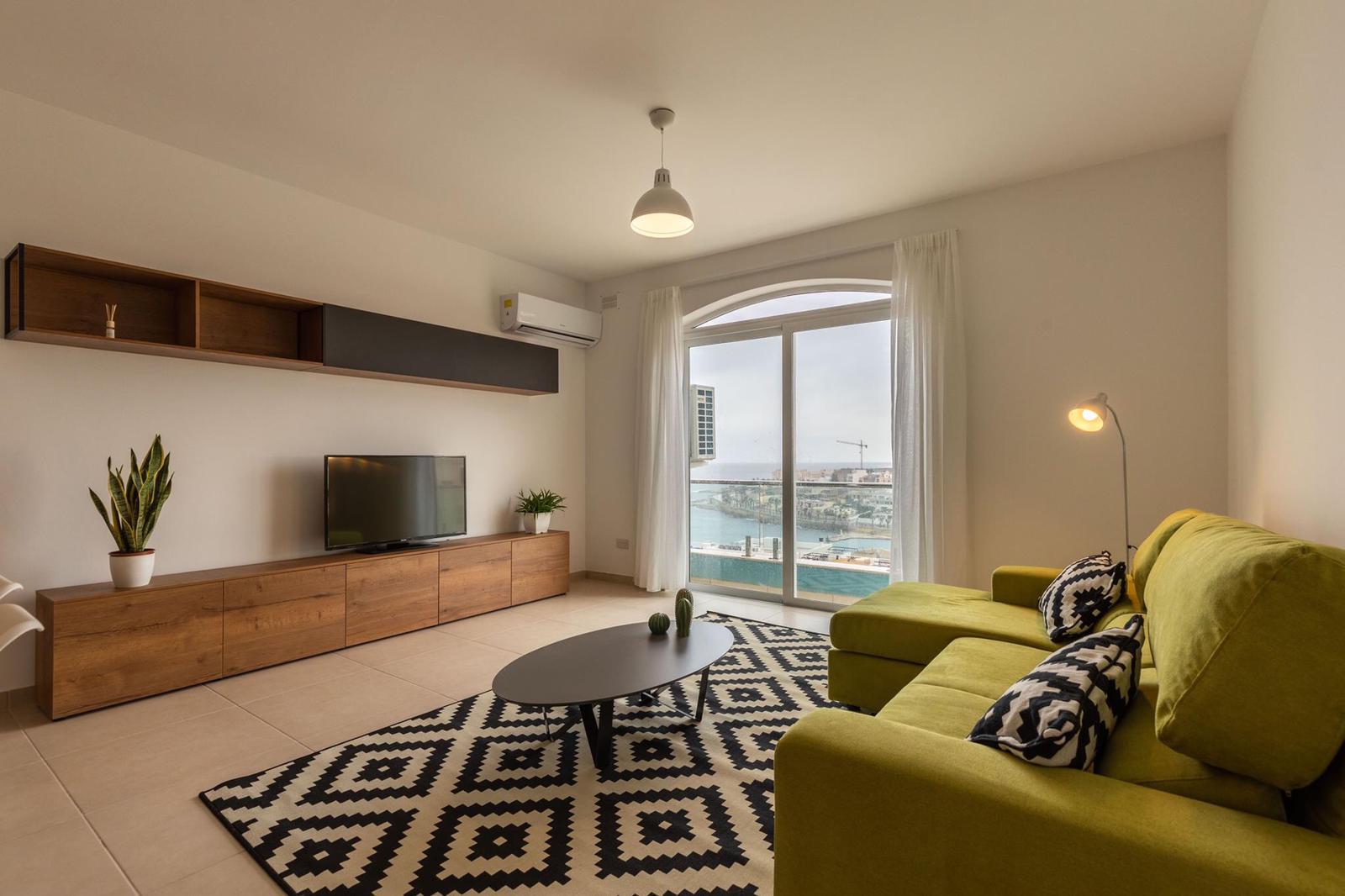 Progetto Interior design appartamento Malta
